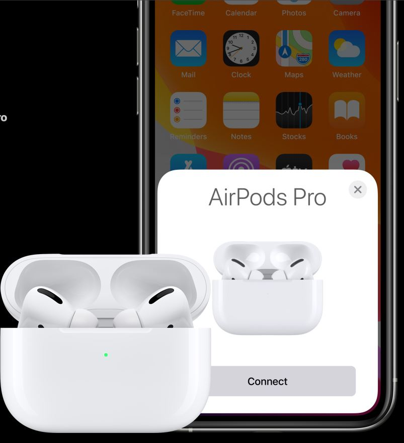 Apple Air Pods Pro connect siri